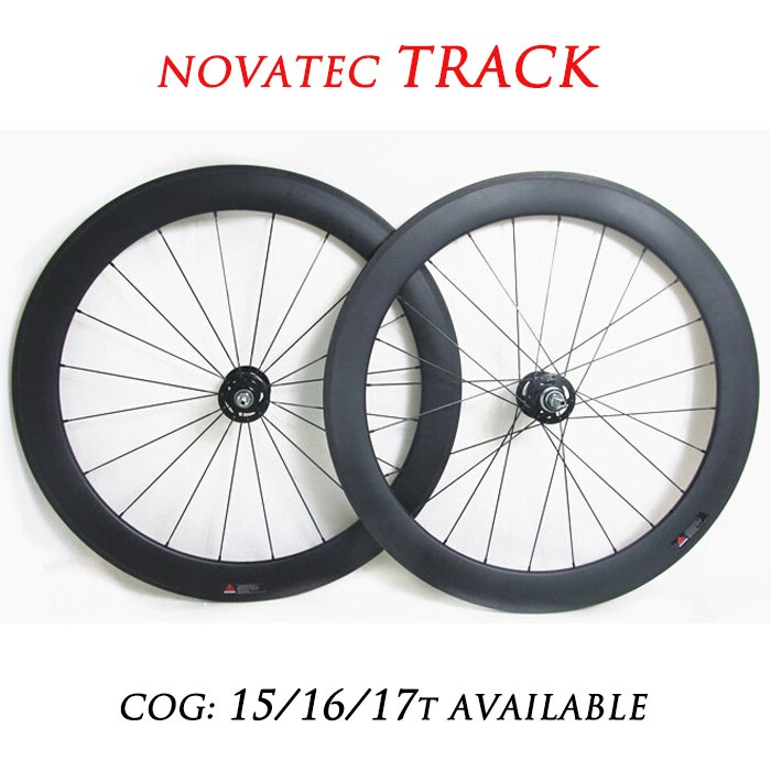 [TRACK] 700c 50mm Carbon Clincher Track Bike Wheelset Fixie Bicycle Wheels Single Speed(China (Mainland))
