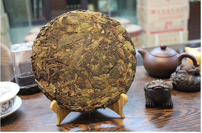 Raw pu er tea 357g olde puer tea ansestor antique honey sweet old tree menghai puer