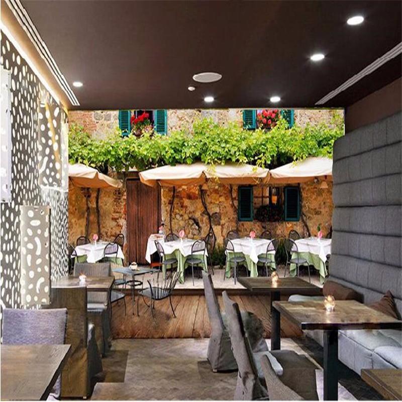 custom-photo-wall-mural-wallpaper-3d-Luxury-Quality-HD-European-old-street-coffee-house-to-enjoy (1)