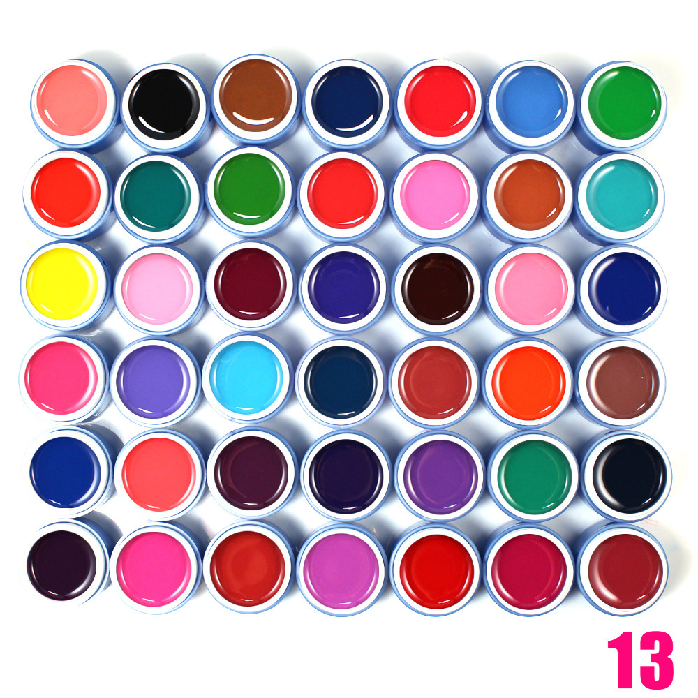 30 colors uv gel set,pure color french manicure uv gel nail polish wholesale<br><br>Aliexpress