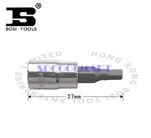 PRETTY 5Pcs 37mm Long 1/4-inch Drive 8mm Steel Hexagon Screwdriver Bit Socket*
