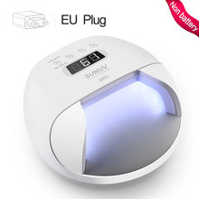 SUNUV SUN7 UV LED נייל מנורת מייבש גדול כוח מהיר ריפוי ציפורניים ג 'ל מקצועי נייל מייבשי UV ג' ל ייבוש כלים מכונה(China)
