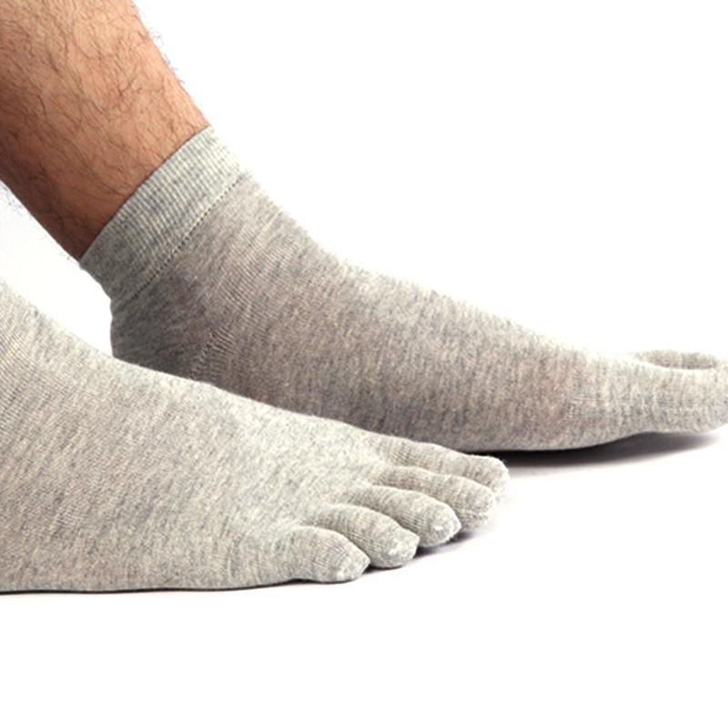 Men Dry-Quick Cotton Deodorant Socks Sport Fashion Absorbent Toe Socks Outdoor Running Classic Socks Free Shipping B59166-Z(China (Mainland))
