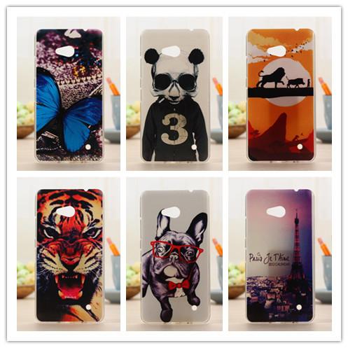 Newest Fashion Painting Case For Nokia Lumia 640 Mibile Phone Bag Back Cases Luxury Hard Plastic Cover PY(China (Mainland))