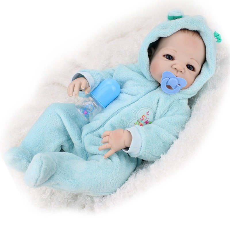 Wholesale 22 Inches Full Vinyl Reborn Babies Doll With