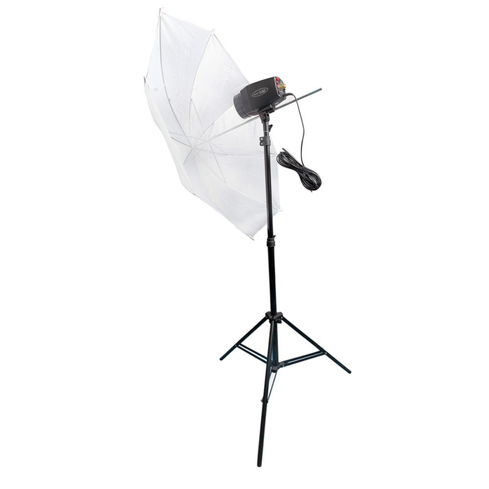 180вт дешевые Студия флэш освещения наборы с Строб & Светоотражающий зонтик и подставка PSK180B3