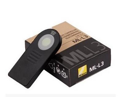 Camera IR remote switch ML-L3 Remote Contro for Nikon D7000 D5100 D5000 D3000 D90 P6000 P7000 D60(China (Mainland))