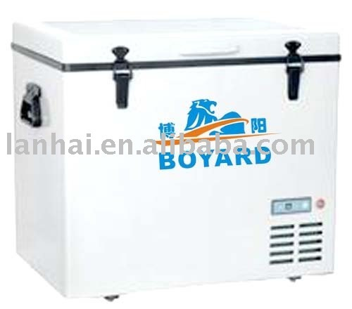 DC power 48v/60v mobile refrigeration freezer air cooling system