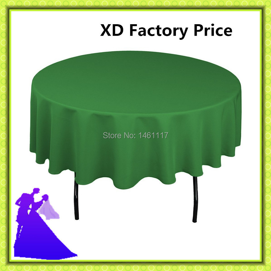 "2015 HOT SALE !!!!! 70"" Round Tablecloth For Wedding /Hotel / Banquet/ Event Free Shipping(China (Mainland))"
