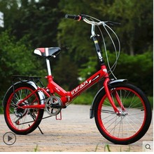 road bike mountain bicycle Male and female student car  20 inch  Gear shift/ single speed / folding /Less shock / shock bicycle(China (Mainland))