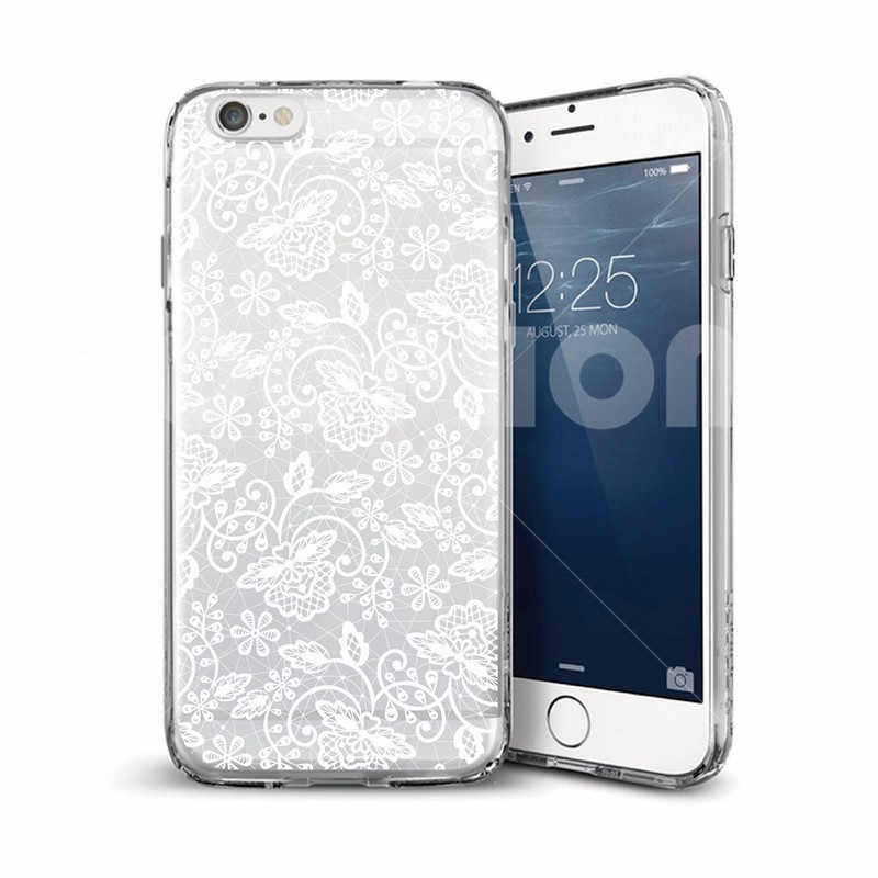 Vintage Sexy Dress Woman Damask High-heels Butterfly Phone Case For iphone 5 5s 6 6s 6 6s Plus Plastic Silicon Crystal Cover Gel