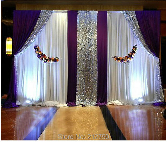 Popular wedding ceremony backdrops buy cheap wedding for Backdrop decoration ideas