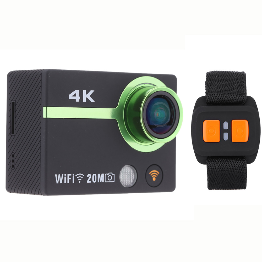 4K Full HD 1080P Wifi Sports Action Camera 170 degree Wide Angle Mini Camera Watch App Smartphone Control Mini Camcorder Car DVR(China (Mainland))