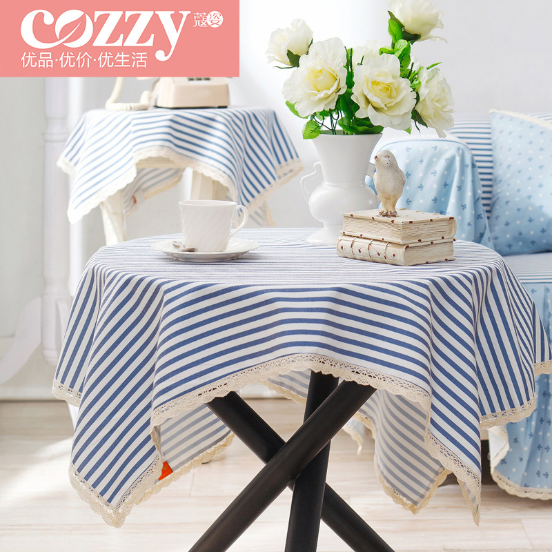 Cozzy Table Cloth Cover Towel Mat Suit Modern Minimalist