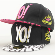 "YO! ""Peaked cap summer baseball caps for male and female hip-hop flat along the sun hat outdoor sunshade cap"