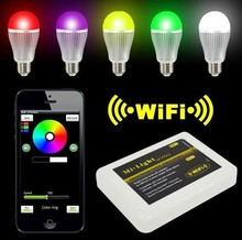 DC5V USB Port  MiLight Wireless Wifi Controller for 2.4G Smart Light RGBW/RGB Lamp Bulb Strip For iPhone For Android