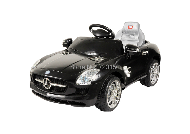 Mercedes benz carrier baby ride on car baking varnish red for Mercedes benz baby pram