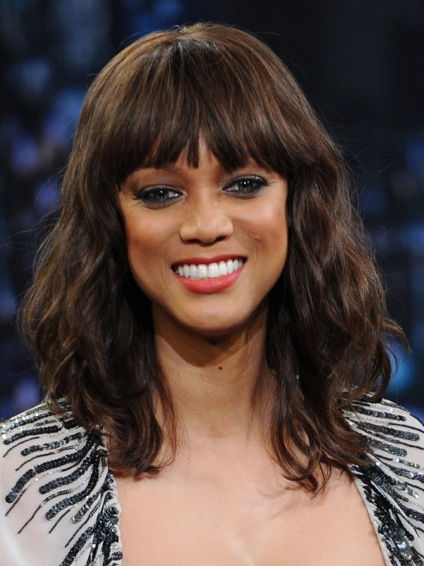 wavy remy lace front wigs with bangs brazilian hair wig