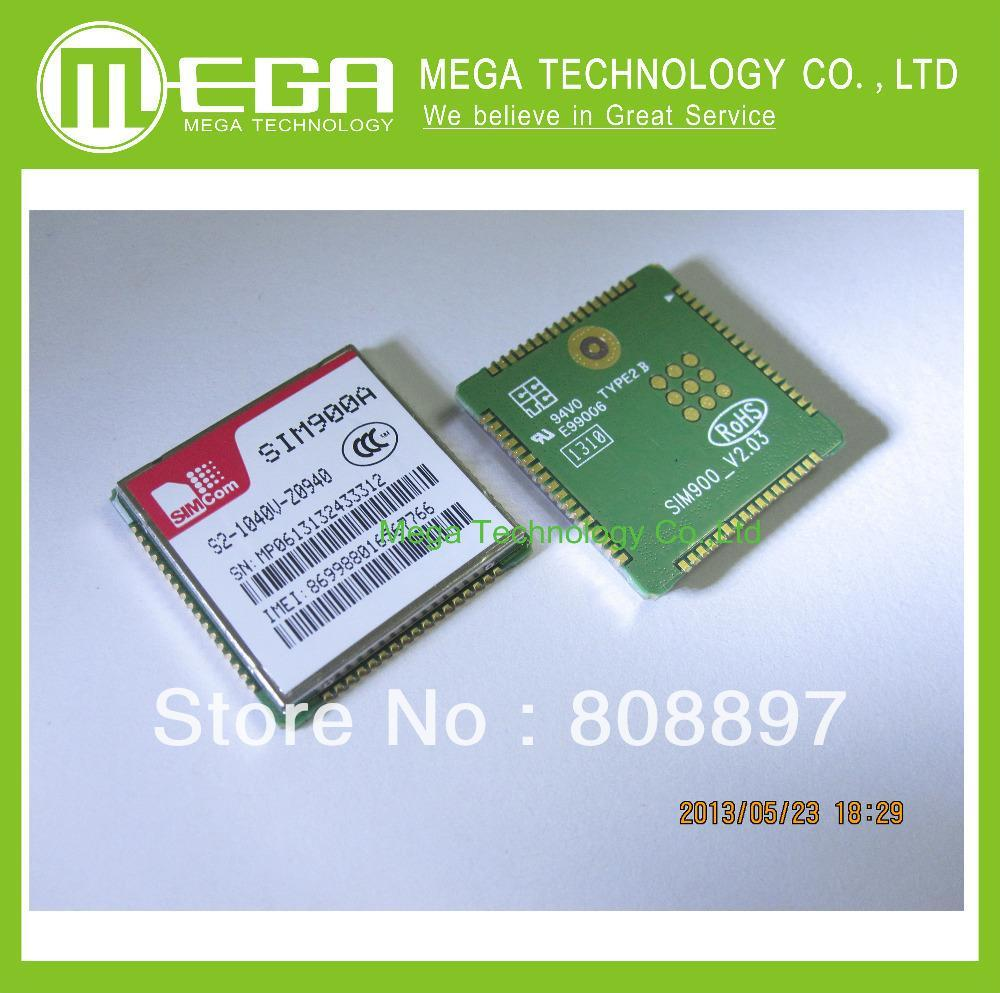 Free Shipping 20PCS SIM900A SIM900 GSM/GPRS SIMCOM module(China (Mainland))
