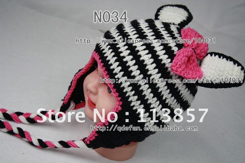 Crochet Baby Zebra Hat Pattern : Crochet Zebra Hat Pattern galleryhip.com - The Hippest ...