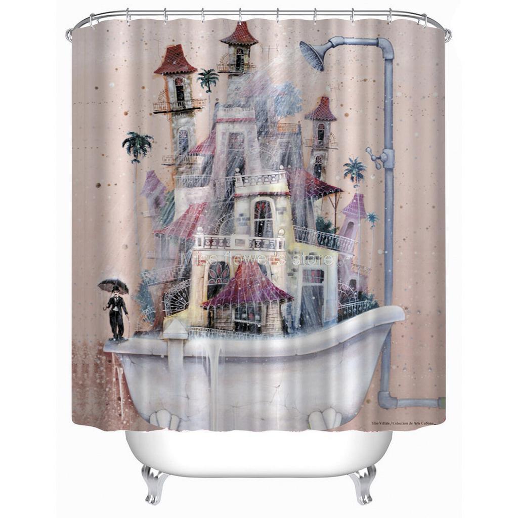 Tenda della doccia vasca da bagno acquista a poco prezzo - Tenda per vasca da bagno ...