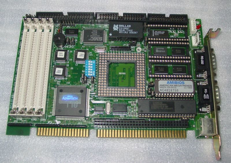 Advavtech industrial motherboard pca-6143 flexible cpu card<br><br>Aliexpress