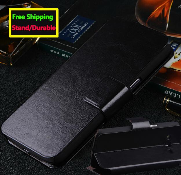 1pc/lot Retail 5 Color In Stock Book Stand Leather Phone Cases For ZTE Blade L3 Z9 Mini Buzz V815w Geek 2 S2003 Flip Case Cover(China (Mainland))