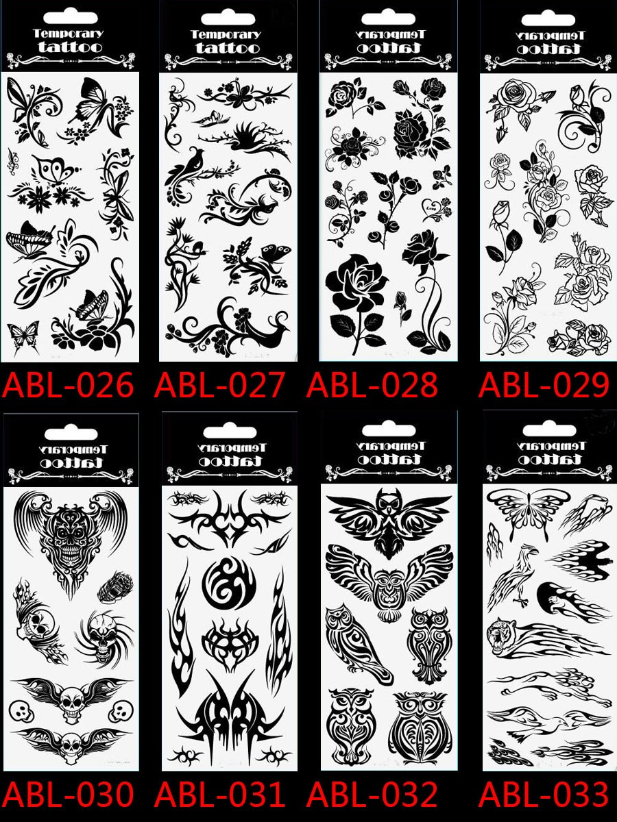 2017 Sale Lc-881 /hot Children's Temporary Body Art Tattoos Fake Batman Spider/hulk/ Superman Cartoon Tattoo Sticker For Kids