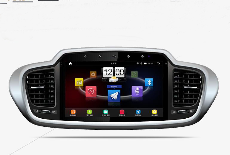 """10.2"""" android car navigation system for Kia Sorento 2015 with Quad core CPU 1024x600 HD capacitive touch screen 16G ROM(China (Mainland))"""