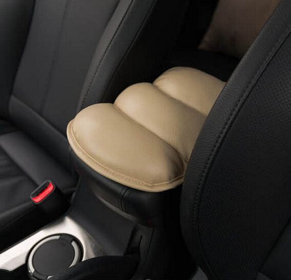 Car Armrests Pads Cover Vehicle Auto Center Console Arm Rest Seat Box Padding Protective Case Soft PU Mats Cushion Universal(China (Mainland))