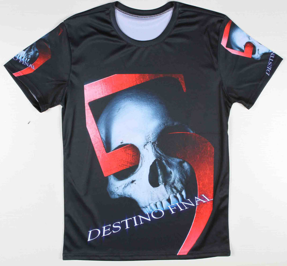 2015 cotton mens fashion cool tee shirts printed terminator t-shirt short sleeve(China (Mainland))