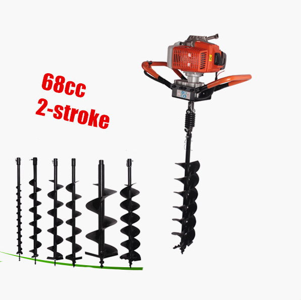 Good quality portable auger drilling rig fence post auger for Good quality garden tools