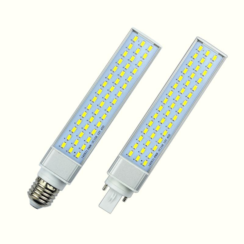 10W 12W 15W 18W 20W 25W E27 G24 G23 LED Corn Bulb Lamp Light SMD 5730/5630 Spotlight 180 Degree AC85-265V Horizontal Plug Light