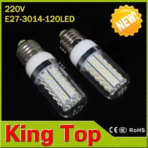 E27 SMD3014 120Leds 85-265V LED Bulb Lamp High Brightness Lampada led Lights CE ROHS(China (Mainland))