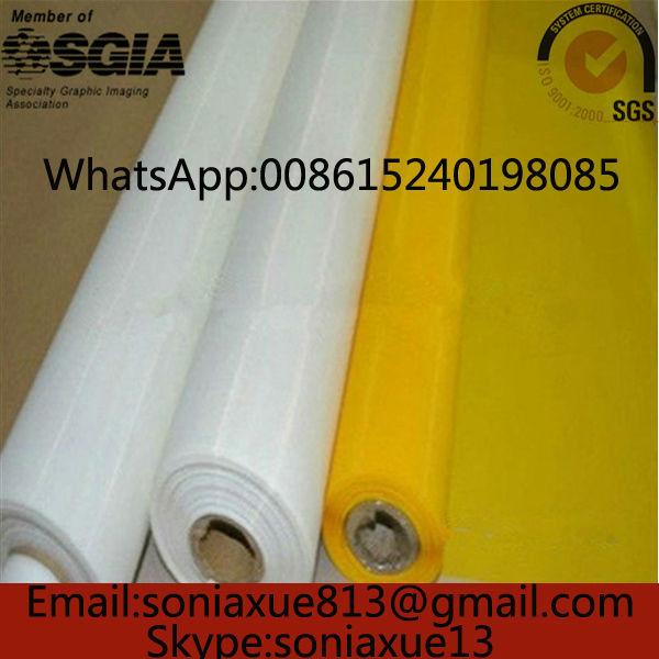 305mesh/120T 34um Yellow 145 width 120T Polyester Screen Printing Mesh(China (Mainland))