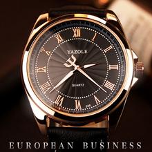 Fashion Casual Mens Watches Luxury Brand High Quality Leather Business Quartz Watch Men Waterproof Wristwatch Relogio Masculino