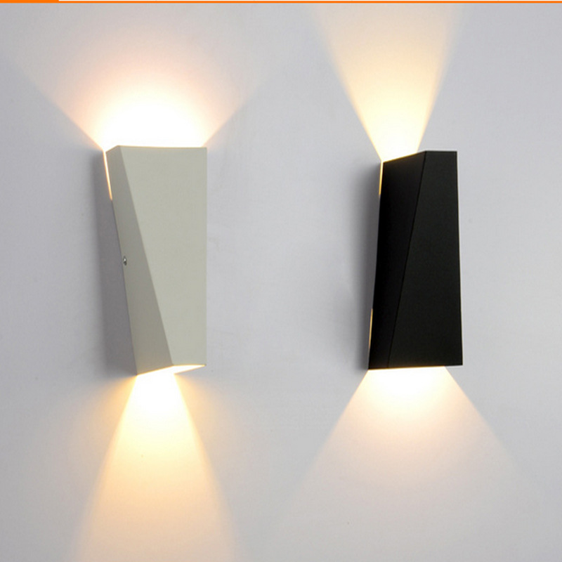 Bedside Wall Lamp With Led : 6W LED light Fashion metal wall lamp indoor wall lighting bedside lamps bedroom light warm white ...