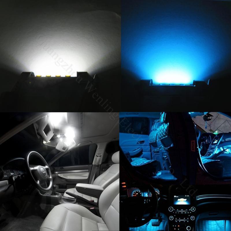 Wljh 31mm 36mm 39mm 41mm 12v Led Car Light Bulb Interior Lights Dome ...