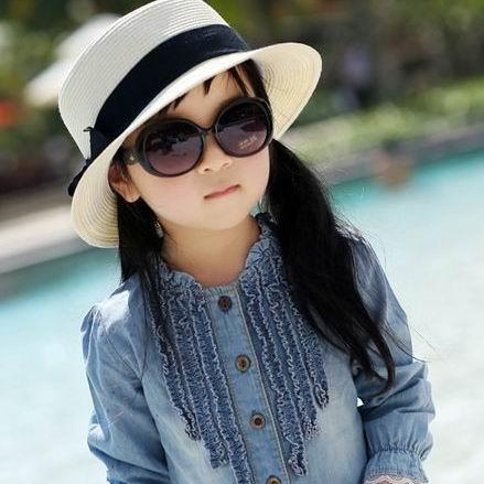 Baby personalized child sunglasses cool sunglasses anti-uv glasses and infants(China (Mainland))