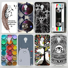 Case For Meizu M2 Note M3 Note Colorful Plastic Printing Drawing Phone Protect Cover For Meizu Meilan Note 2 3 Hard Phone Cases