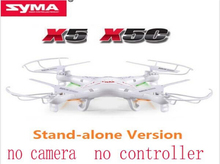 Syma X5C Explorers 2.4G 4CH 6-Axis Gyro RC Quadcopter With RTF only Helicopter without controller no camera(China (Mainland))