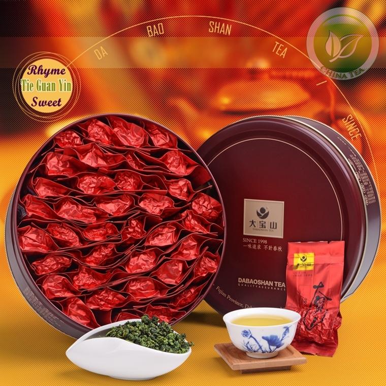 China Tea Dabaoshan Brand Rhyme Sweet Anxi Tieguanyin Oolong Tea,Taiwan Milk Oolong Tie Guan Yin 250g For Personal Health Care<br><br>Aliexpress