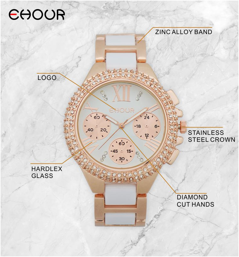 Geneva Brand Luxury Jewelry Ladies Quartz Watch Dress Fashion Casual Women Watches Roman Numerals Rhinestone Bracelets Watches