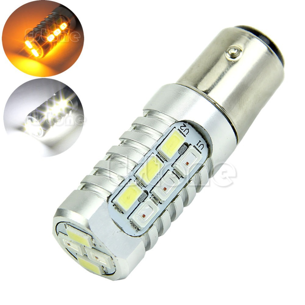 E93  2016 newest Dual Color 1157 50W 5630 White Yellow LED Switchback Turn Signal Light Bulbsfree shipping<br><br>Aliexpress
