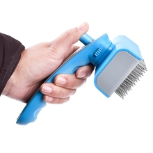 Products for Pet Combs Dog Hair Styling Hair Combs for Cat Puppy Fur Hair Grooming Brush Pet Self Quick Clean Hair Shedding Tool