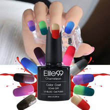 Buy Elite99 Chameleonic Gel Nails Polish 10ml Temperature Color Change Polish Gel UV Curing Mood Changing Gel Polish Nail for $1.87 in AliExpress store