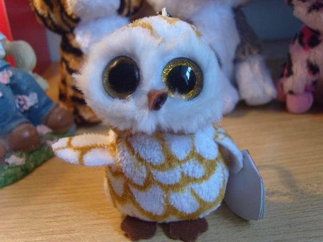 Коллекция шапочки большие глаза вещи куклы игрушки 3 дюйм(ов) брелок желтый сова
