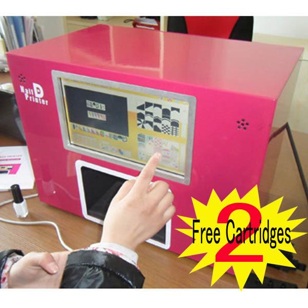 2015 Most popular Free shipping nail art printer digital nail printing machine for nail salon tools(China (Mainland))