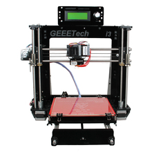 Geeetech Newest Reprap Prusa i3 3D Printer Machine Acrylic Frame High Precision Impressora DIY Kit LCD Free
