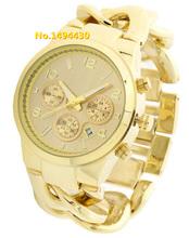 2015 Top Marca moda para Mujer reloj De cuarzo mujeres Rhinestone Relojes rosa De oro reloj femenino del Montre Femme Relojes De Marca Mujer C